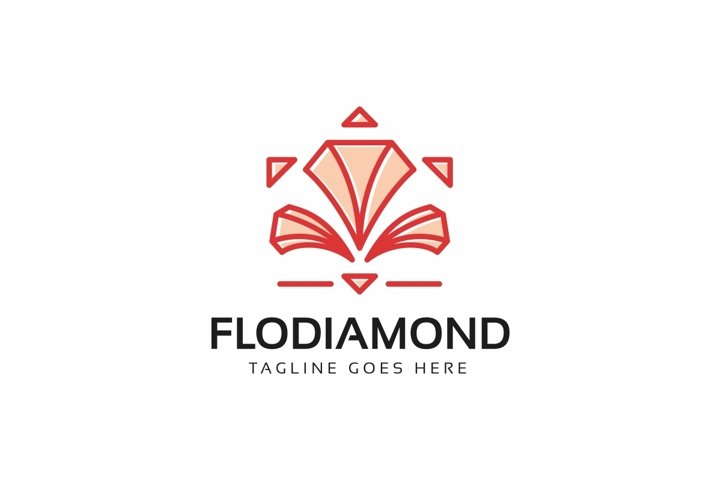 Flower Diamond Logo