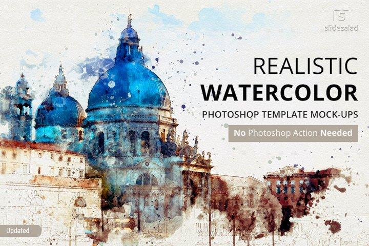 Best Watercolor Photoshop Mock-ups