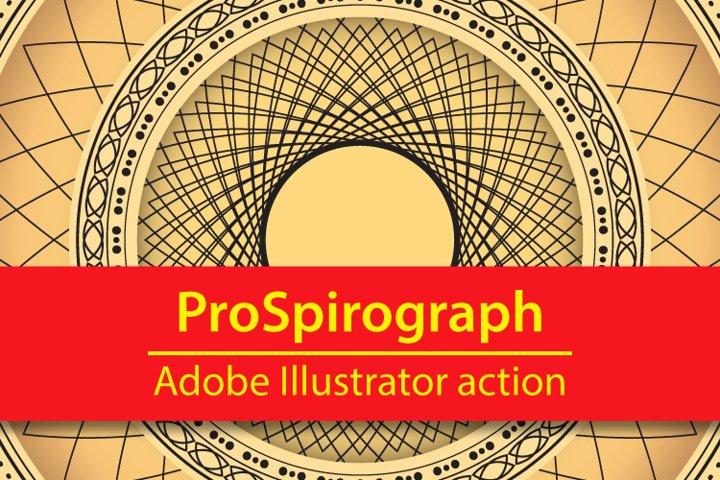 ProSpirograph Illustrator action