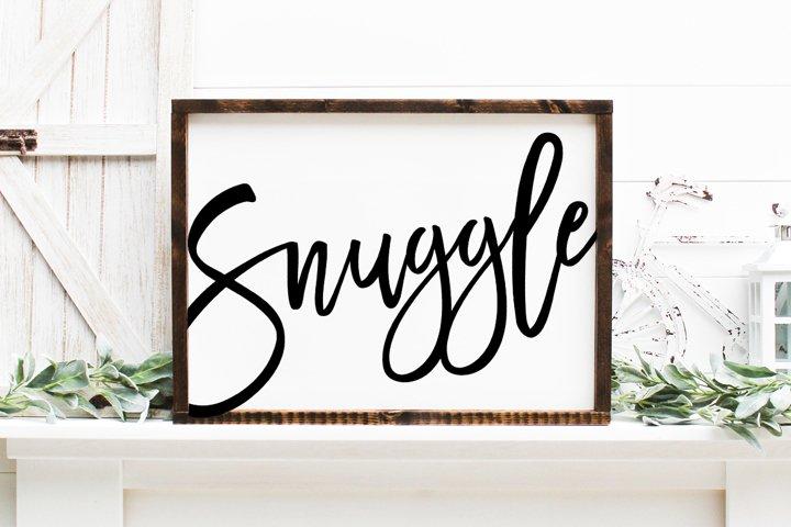 Snuggle SVG