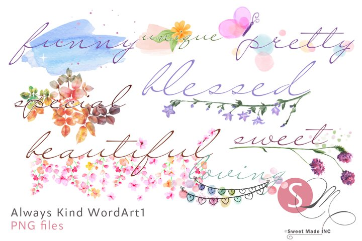 Always Kind WordArt1
