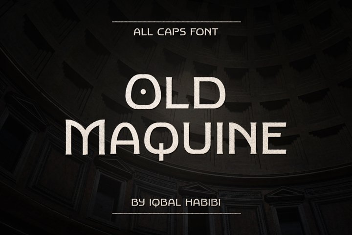 Old Maquine