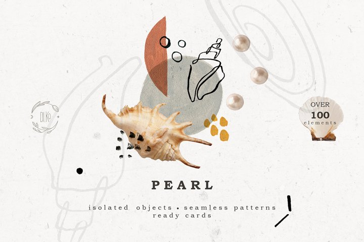 Pearl graphic collection.