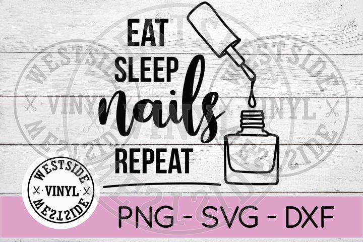 NAILS REPEAT - NAIL TECH - BEAUTY SVG FILES - NAIL POLISH