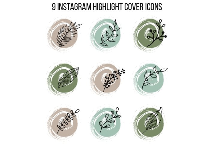 Instagram Stories Highlight Cover Icons