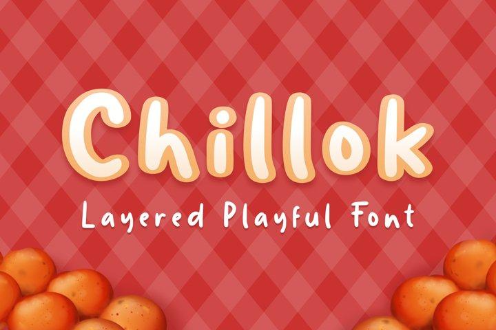 Chillok Playful Font