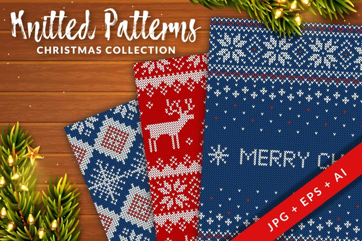Knitted Christmas Patterns