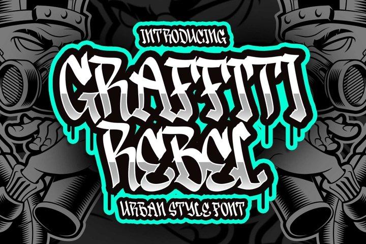 Graffiti Rebel - Urban Style Font