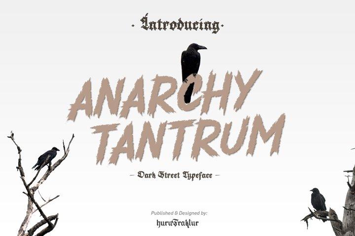 Anarchy Tantrum