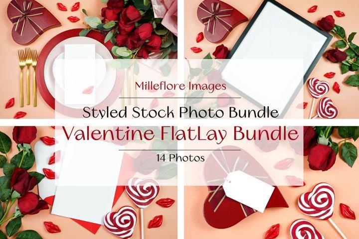 Valentine Multi Use SVG Craft Mockups FlatLay Photos Bundle