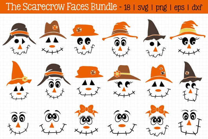 Scarecrow Faces Bundle