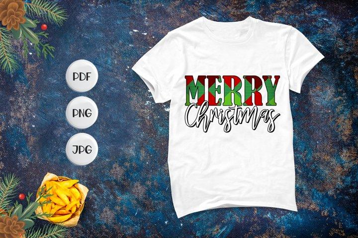 Merry Christmas, Christmas PNG, Christmas Sublimation