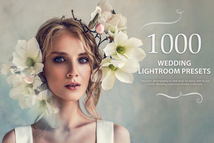 1000 Wedding Lightroom Presets Collection