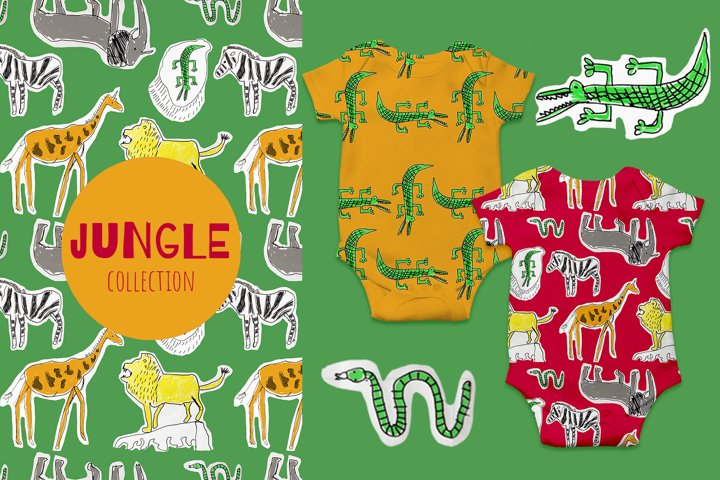 Jungle Animals Patterns