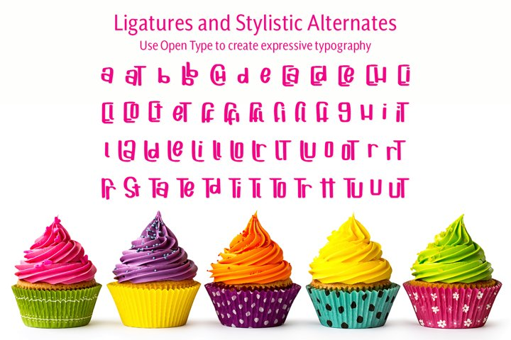 Cuppycake - an impossibly cute font - Free Font of The Week Design7
