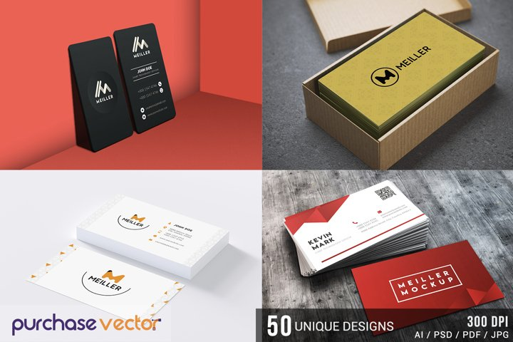 Professional Business Cards Templates