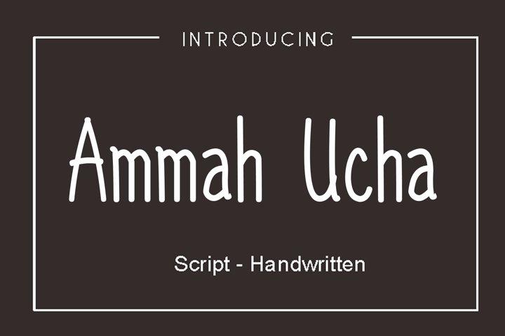 Ammah Ucha