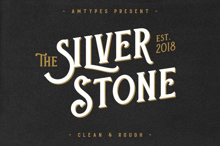 Silver Stone Font  Bonus