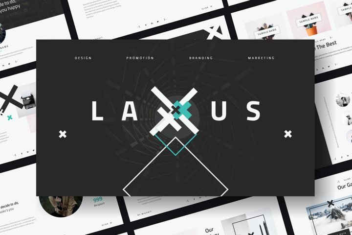 Laxus PowerPoint Template