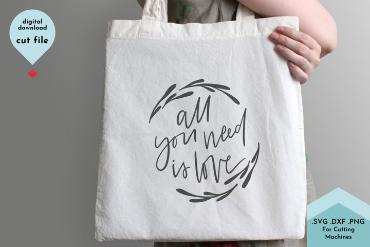Love - Wedding SVG, Calligraphy, Valentines