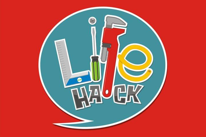 Life Hack Logo Design