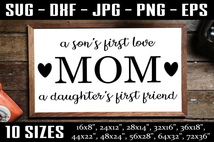 Mom Sign, Mom SVG, Mother Day SVG, Mom Life SVG PNG EPS