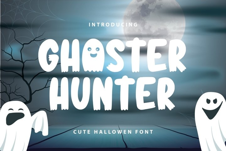 Ghoster Hunter | Cute Horror Font