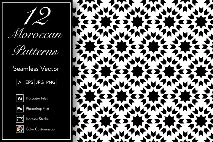 12 Moroccan Patterns