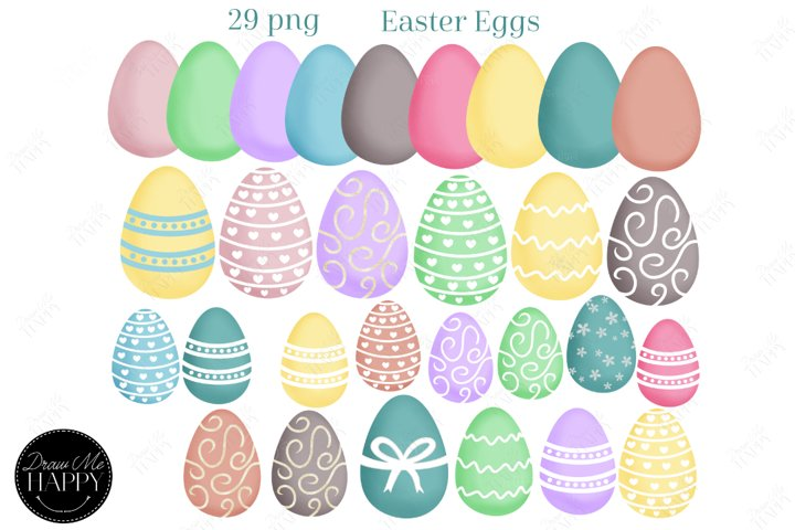 Easter Egg Clipart, Easter Clipart, Spring Clipart