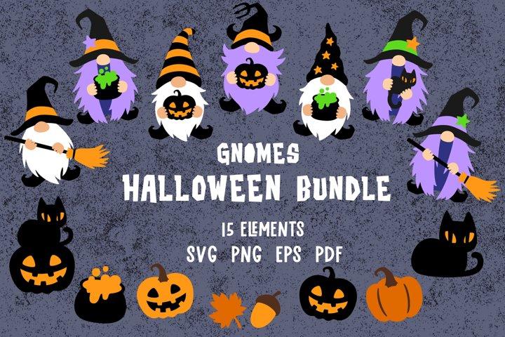 Halloween svg bundle Halloween gnomes svg Witch svg Fall svg