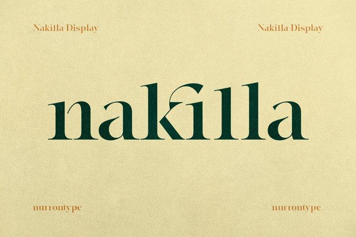 Nakilla Display