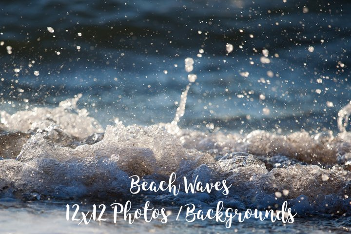 Beach Waves Close Up, Sandy beach foam, Beach Photos