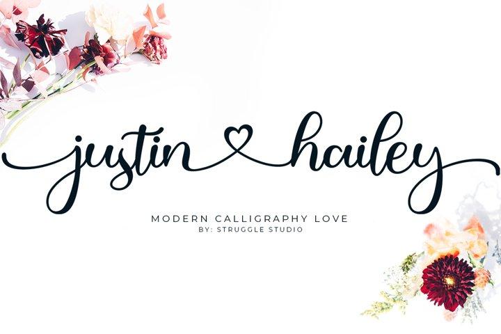 Justin Hailey - Modern Calligraphy Love