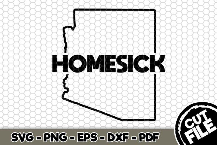 Arizona Homesick - Arizona State - SVG Cut File n344