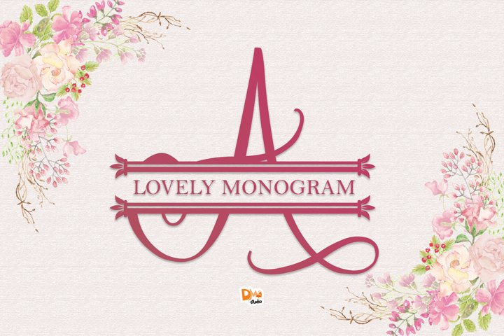Lovely Monogram