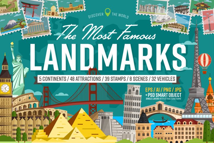 The Most Famous Landmarks