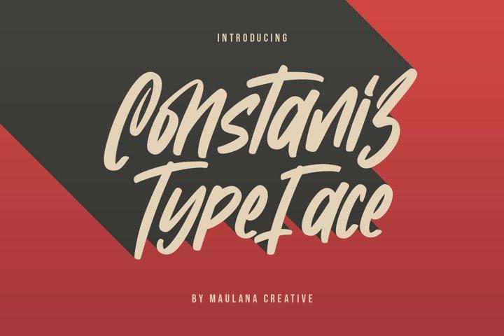 Constaniz Typeface