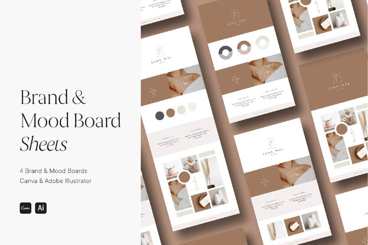 Brand & Mood Board Template