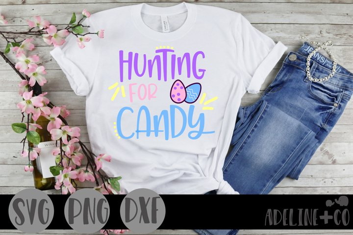 Hunting for candy, SVG, PNG, DXF, Easter