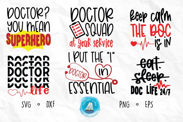 Doctor Bundle | Doctor | Healthcare SVG Cut File