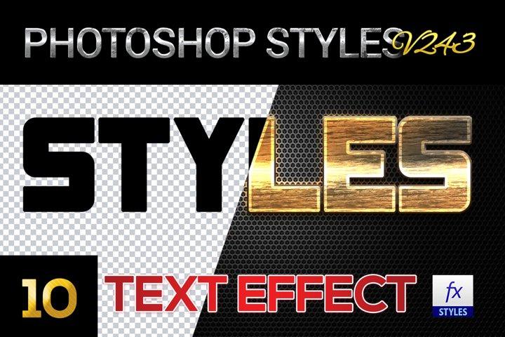 10 creative Unique Photoshop Styles V374