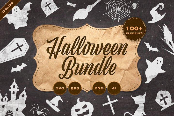 Halloween Bundle, halloween SVG bundle, Halloween Silhouette