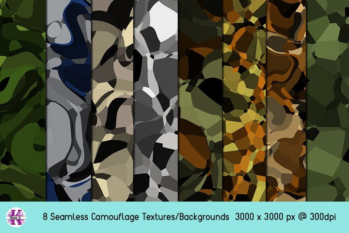 Camouflage - Backgrounds - Textures