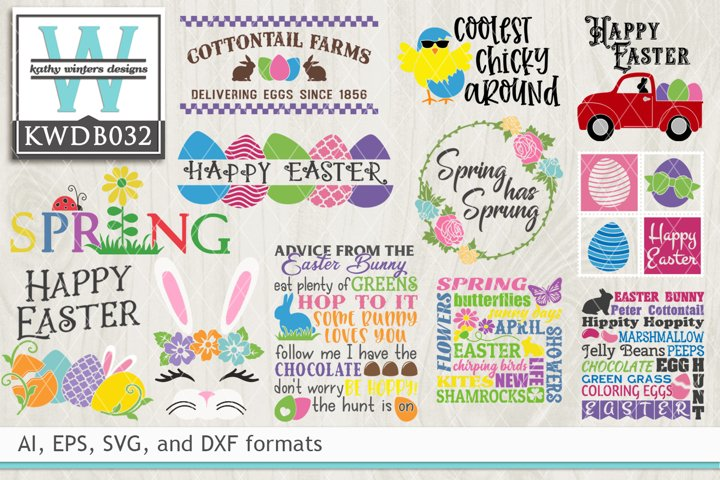 Download Easter Cutting File Kwd063C Crafter Files