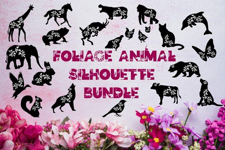 Animal Silhouette Bundle, Animal SVG Bundle, Papercut Bundle