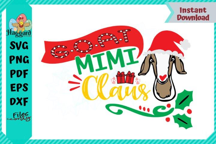 G.O.A.T MIMI Claus