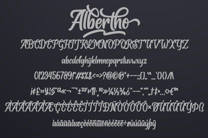 Albertho example 5