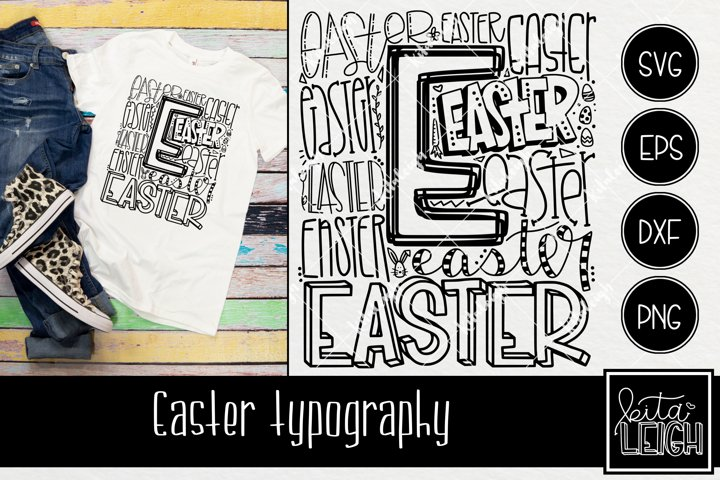 Easter Typography