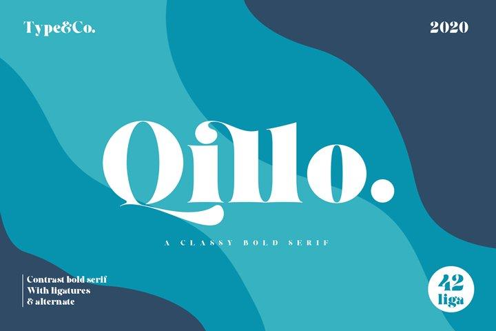 Qillo Serif