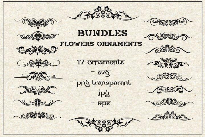 bundles svg flowers ornaments vol 2